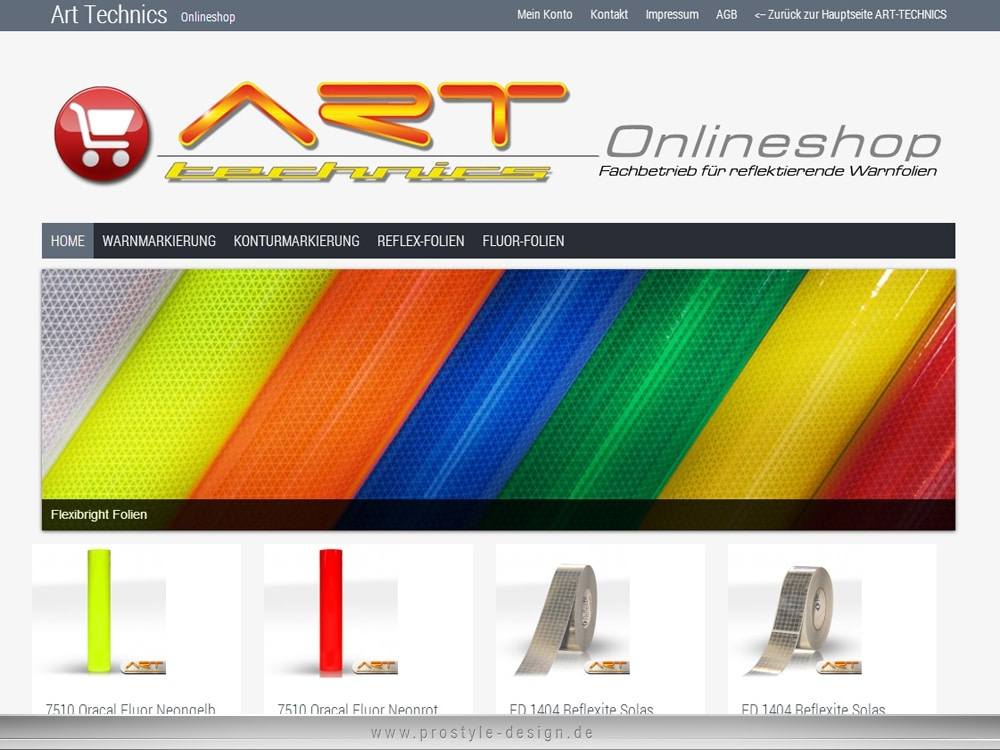 Webdesign Art Technics CMS - System