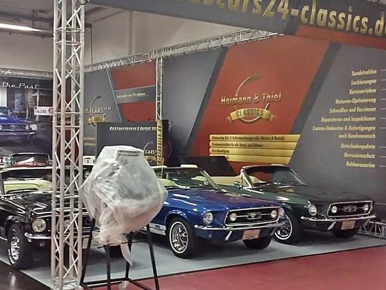 USCARS24-Classics: Messestand Design